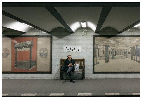 Станция берлинского метро