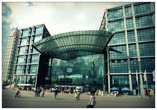 Берлинский центральный вокзал