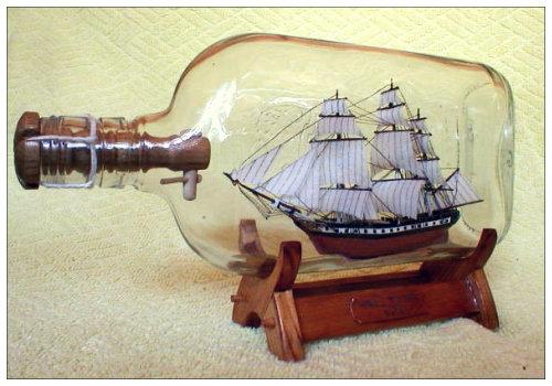 Кораблик в бутылке из Гамбурга