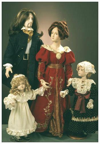 Фарфоровые куклы из музея игрушки