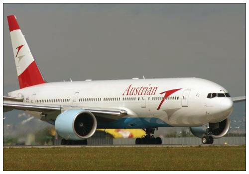 Самолет Austrian Airlines