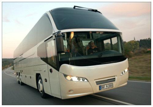 Автобус до города