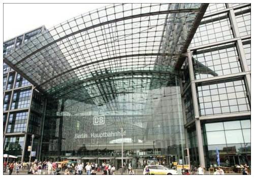 Центральный вокзал в Берлине