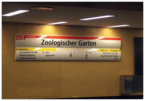 Станция Zoologischer Garten