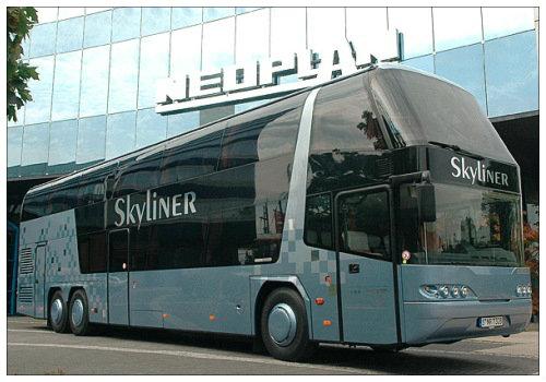На автобусе в Гамбург