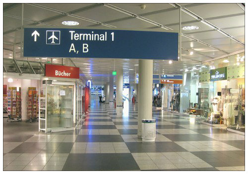 Терминал №1 мюнхенского аэропорта