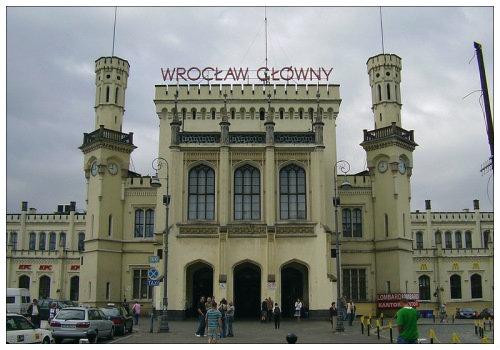 Вокзал в Польше
