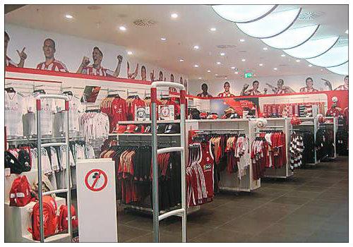 Магазин футбольного клуба «Бавария»
