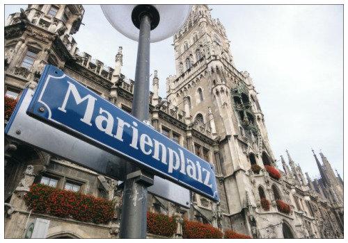 Площадь Marienplatz