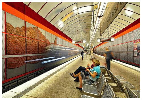 Мюнхенская подземка