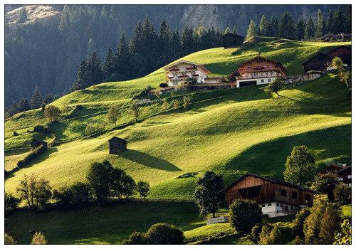 Красоты в Австрии.