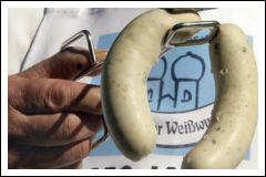 Белые мюнхенские колбаски