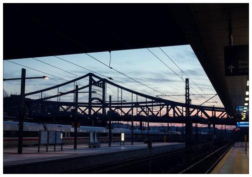 Вокзал в Берлине.