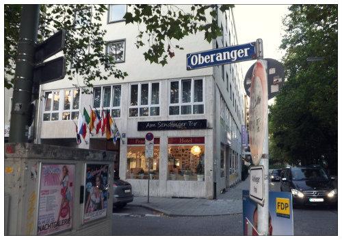 Фасад Hotel Sendlinger Tor.