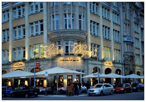 Ресторан Lutter&Wegner.