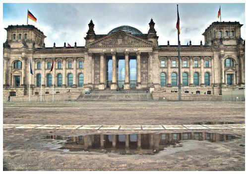 Здание Рейхстага.