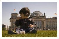 Мальчик у Рейхстага
