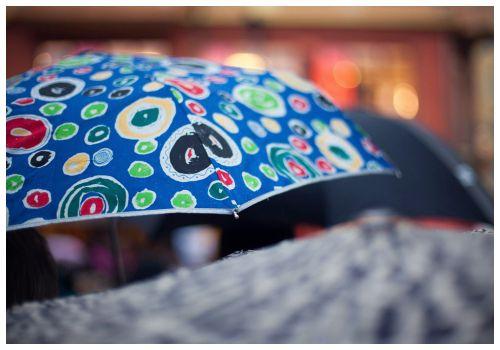 Дождливый день.