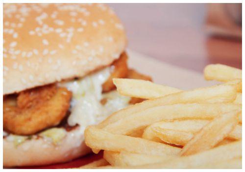 Гамбургер.