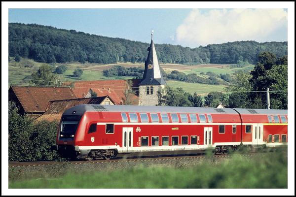 Поездка на поезде из России в Германию.