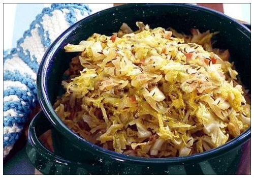 Простой рецепт капусты