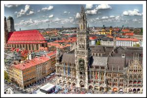 Полезная информация о площади Мюнхена Мариенплац.