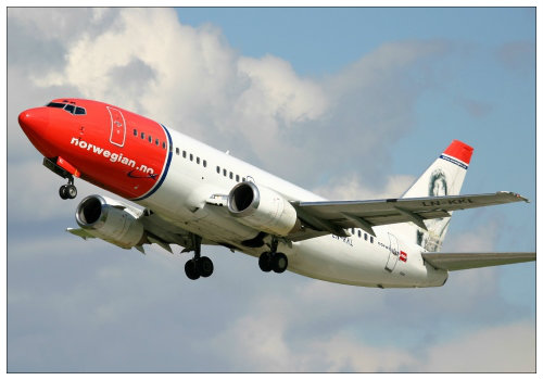 Самолет Norwegian Airlines