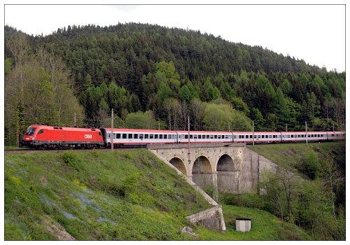 На поезде по Германии