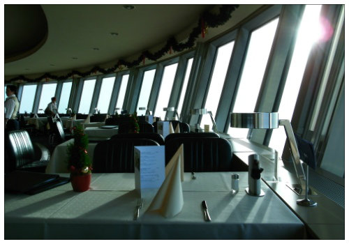 Ресторан в башне