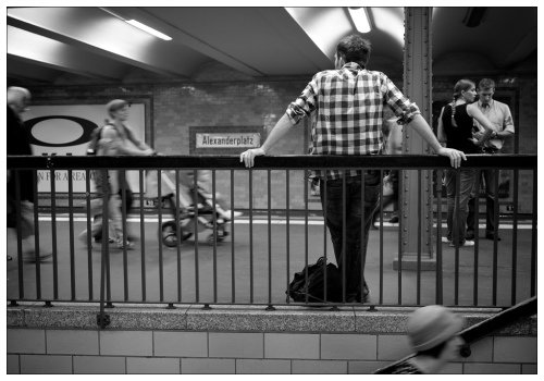 В берлинской подземке