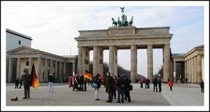 Мало туристов в Германии.
