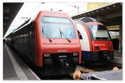 Поезда по Германии.